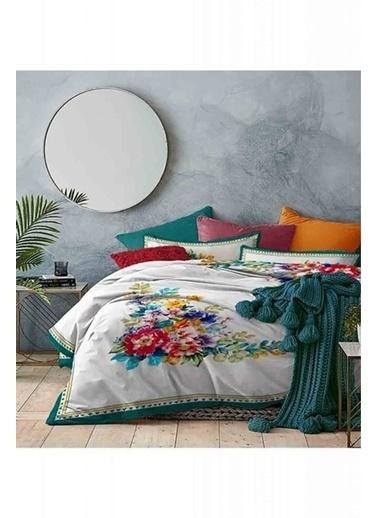 Mizalle Home Çift Kişilik Nevresim Takımı (Çiçek) Renkli